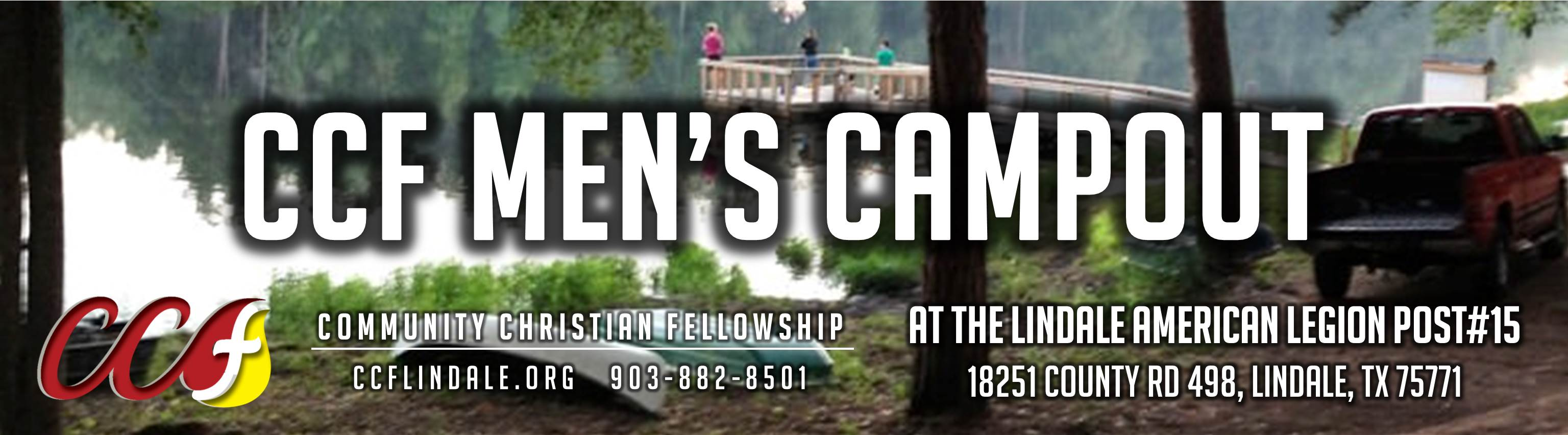 CCF Mens Campout & Trail Life