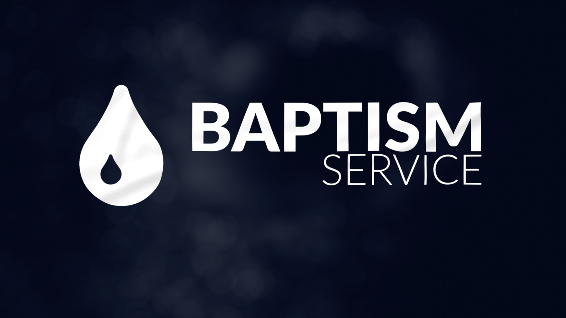 Baptism Service January 26th 2020