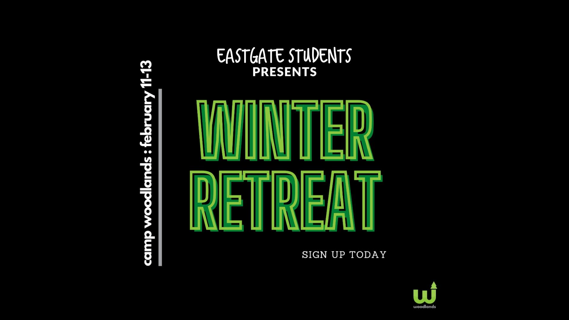 Winter Retreat at Woodlands Camp