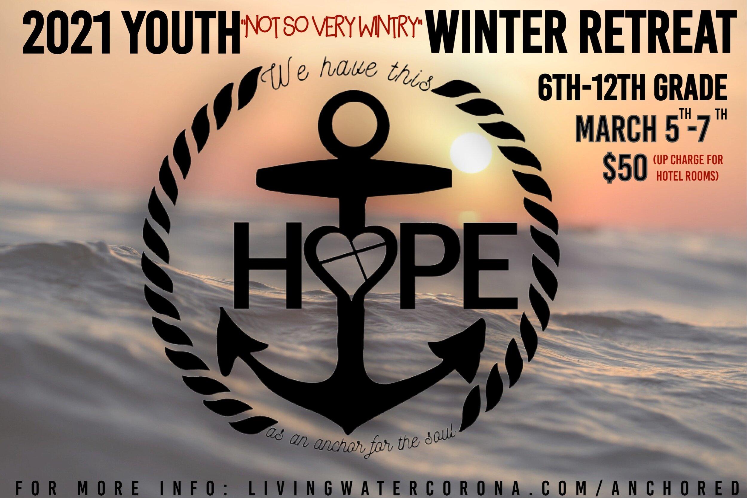 2021 Youth Winter Retreat Hotel